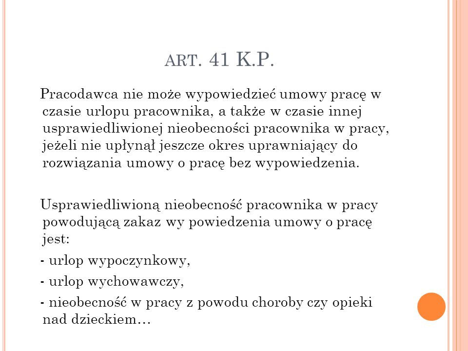 art. 41 K.P.