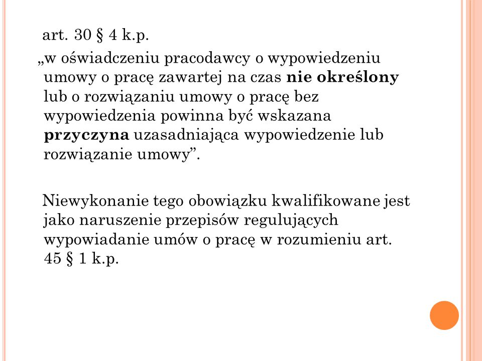art. 30 § 4 k.p.