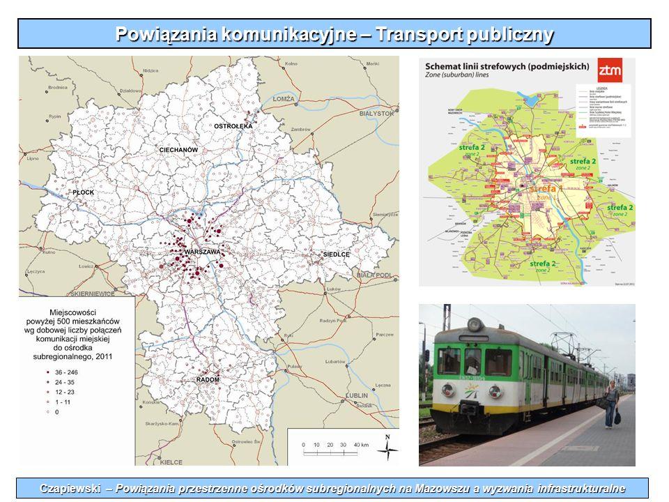 Powiązania komunikacyjne – Transport publiczny