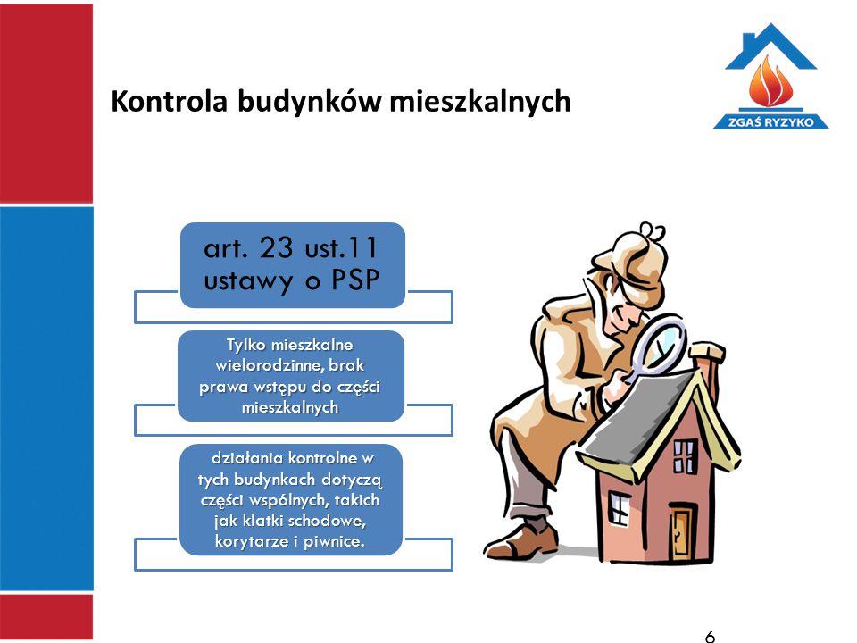 Kontrola budynków mieszkalnych