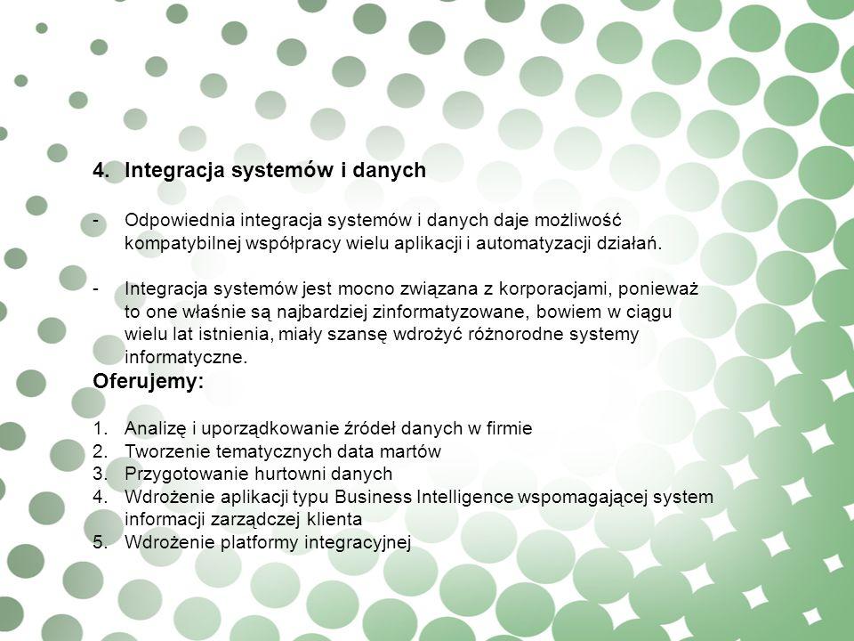 4. Integracja systemów i danych