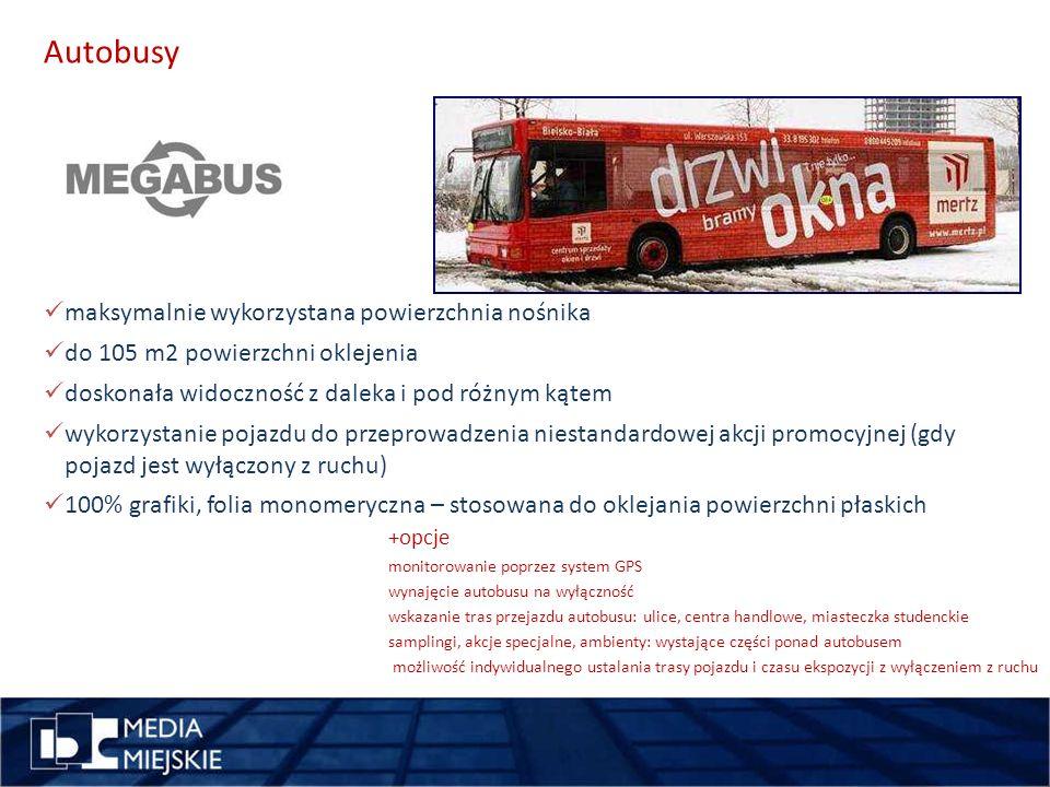 pomysł miejsce Autobusy wykorzystajdługość