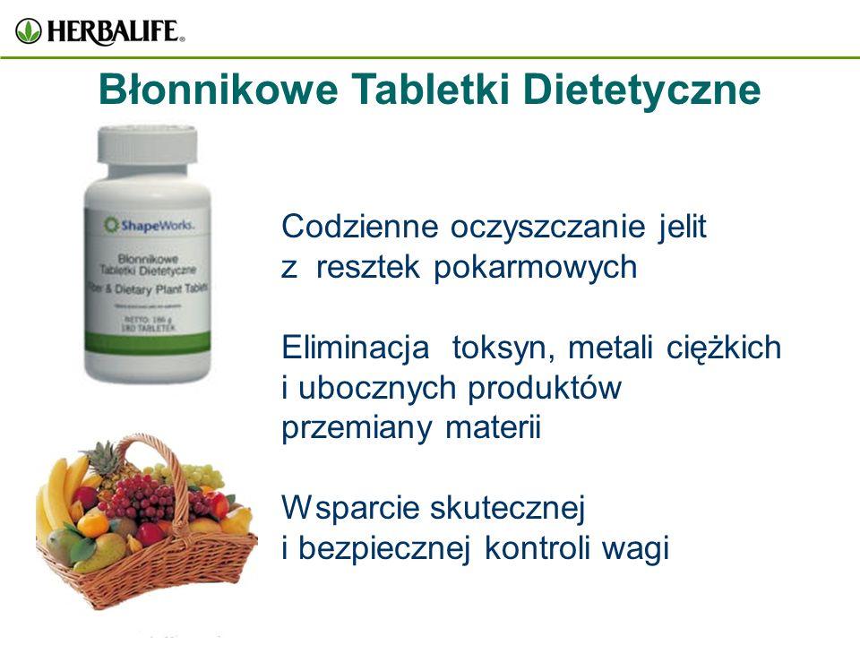 Błonnikowe Tabletki Dietetyczne