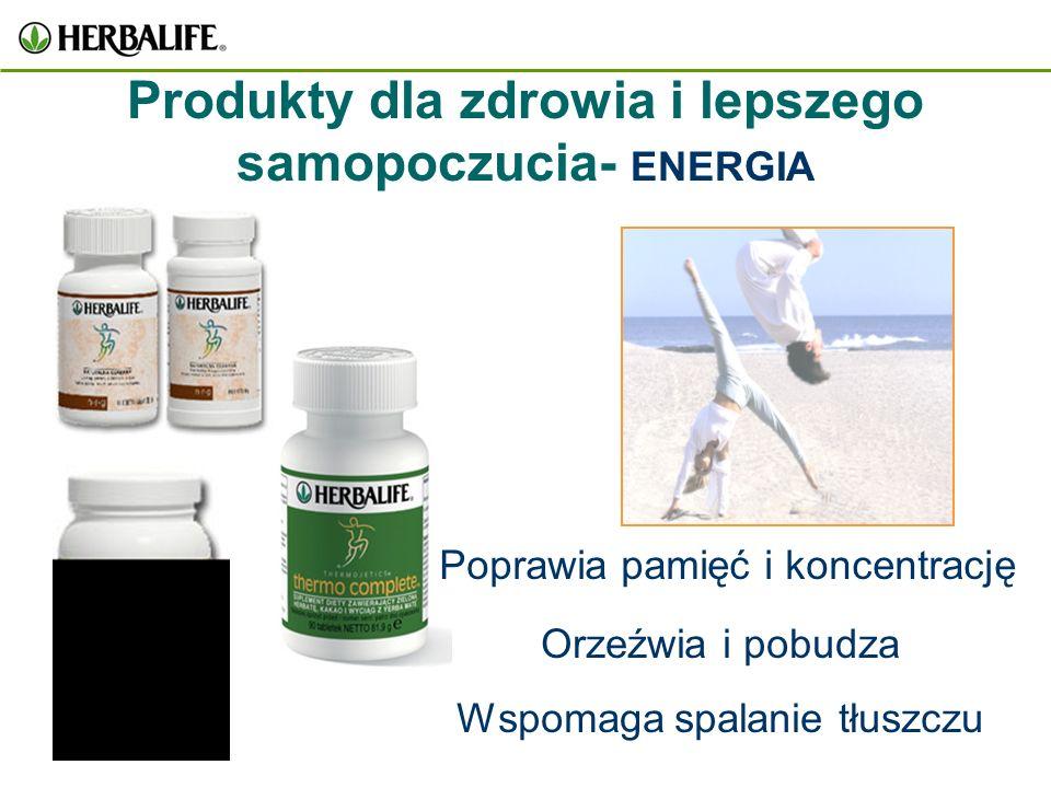 Produkty dla zdrowia i lepszego samopoczucia- ENERGIA