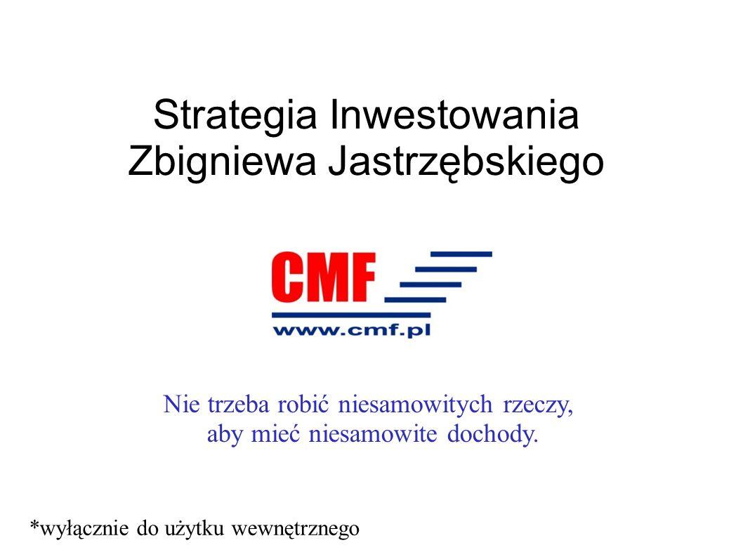 Strategia Inwestowania Zbigniewa Jastrzębskiego