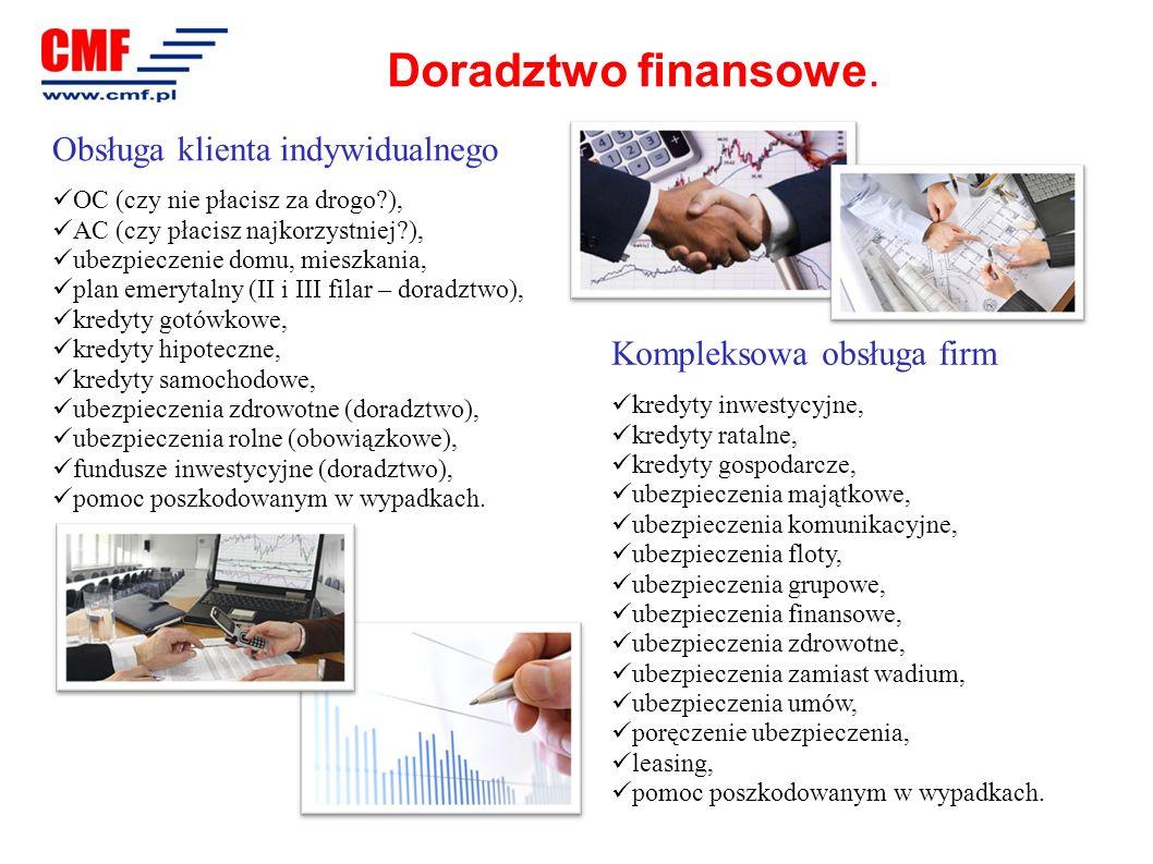Doradztwo finansowe. Obsługa klienta indywidualnego