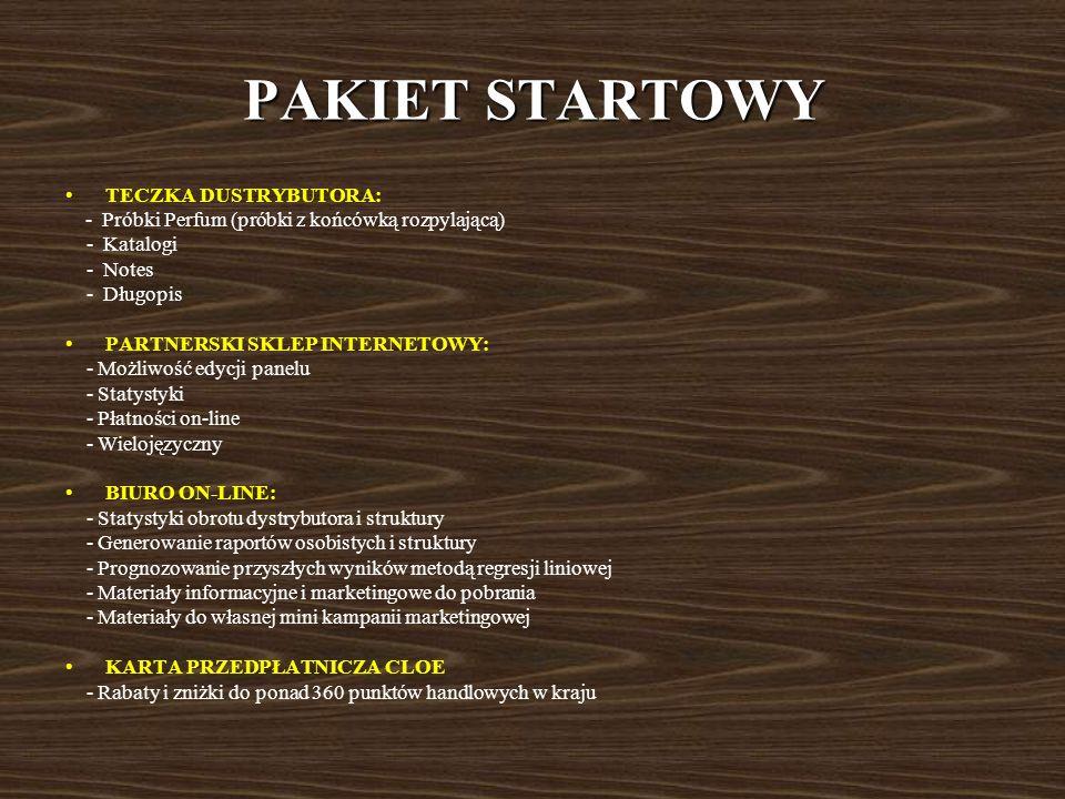 PAKIET STARTOWY TECZKA DUSTRYBUTORA: - Katalogi - Notes - Długopis