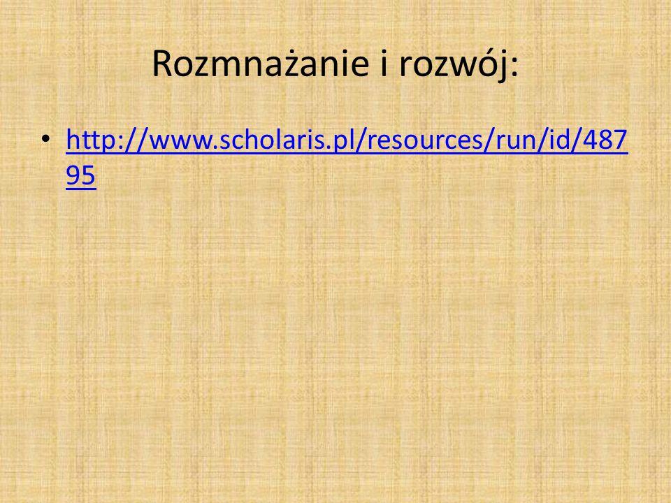 Rozmnażanie i rozwój: http://www.scholaris.pl/resources/run/id/48795