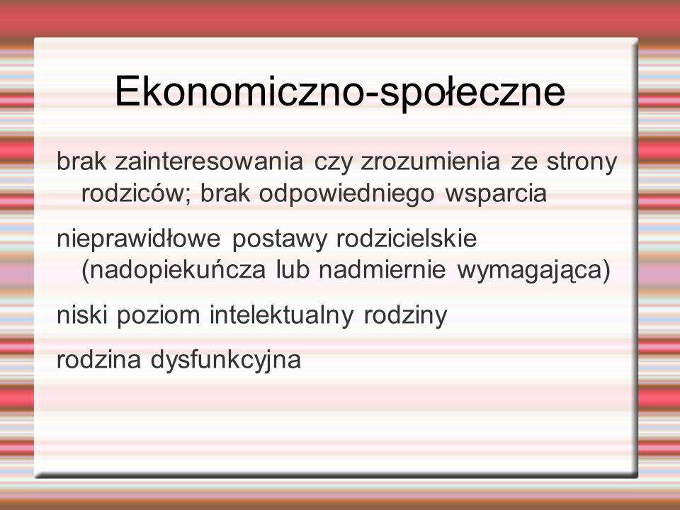 Ekonomiczno-społeczne