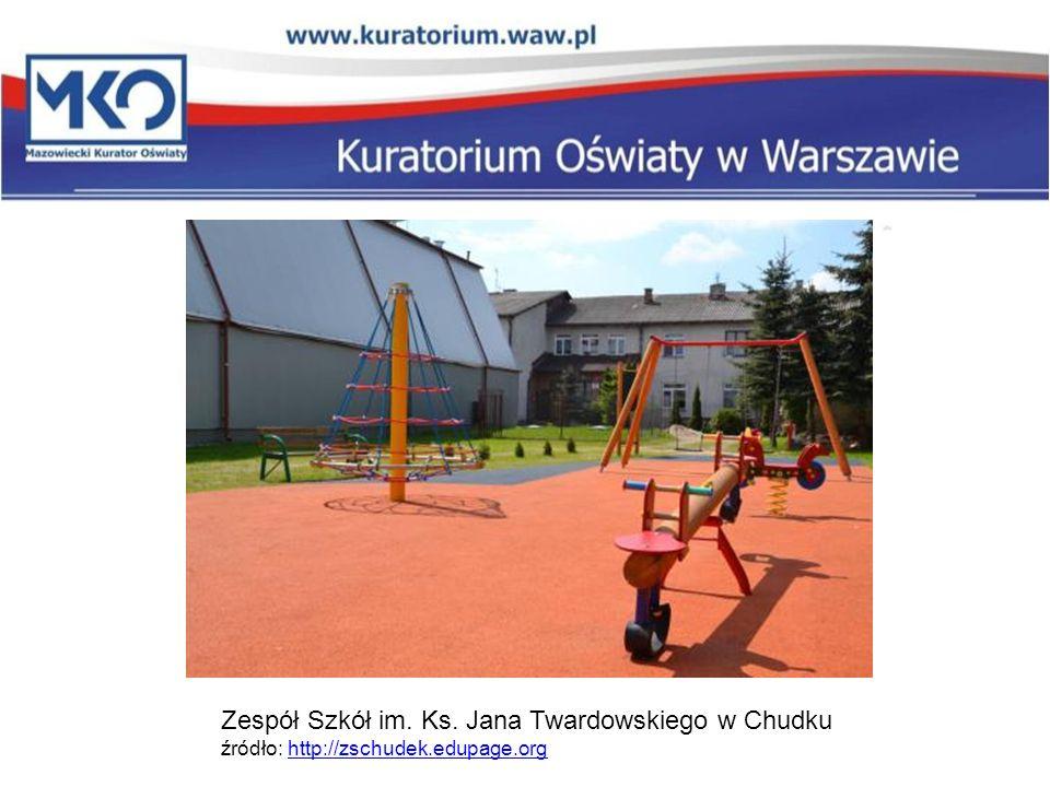 Zespół Szkół im. Ks. Jana Twardowskiego w Chudku