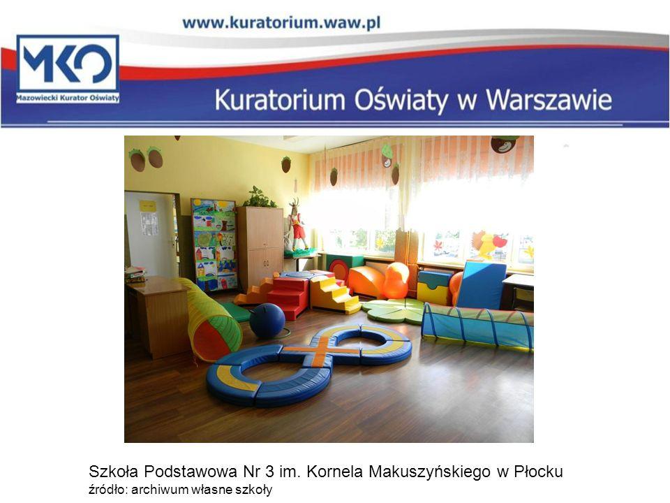 Szkoła Podstawowa Nr 3 im. Kornela Makuszyńskiego w Płocku