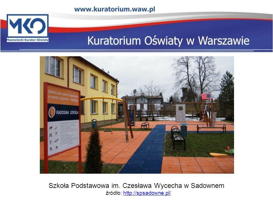 Szkoła Podstawowa im. Czesława Wycecha w Sadownem