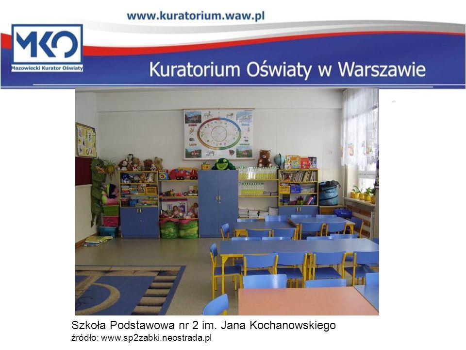 Szkoła Podstawowa nr 2 im. Jana Kochanowskiego źródło: www. sp2zabki
