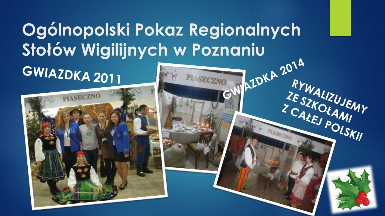 Ogólnopolski Pokaz Regionalnych Stołów Wigilijnych w Poznaniu