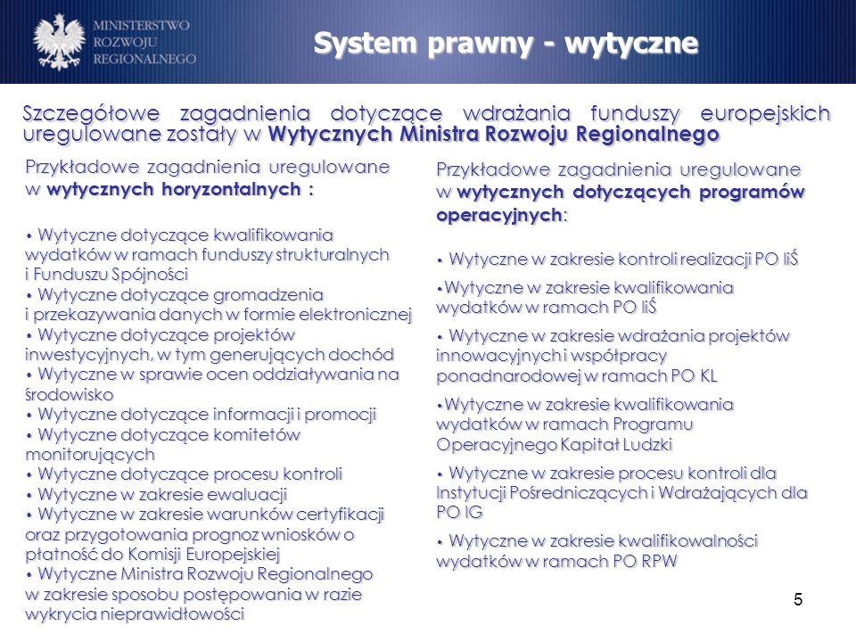 System prawny - wytyczne