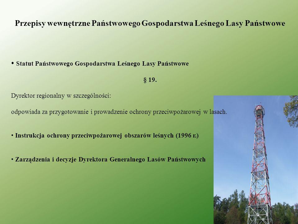 Przepisy wewnętrzne Państwowego Gospodarstwa Leśnego Lasy Państwowe