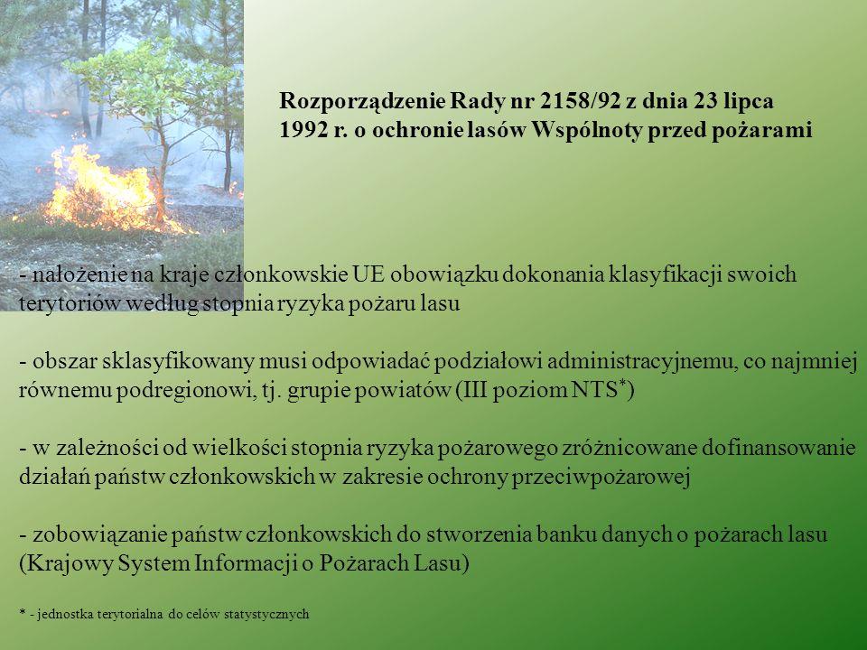 Rozporządzenie Rady nr 2158/92 z dnia 23 lipca. 1992 r