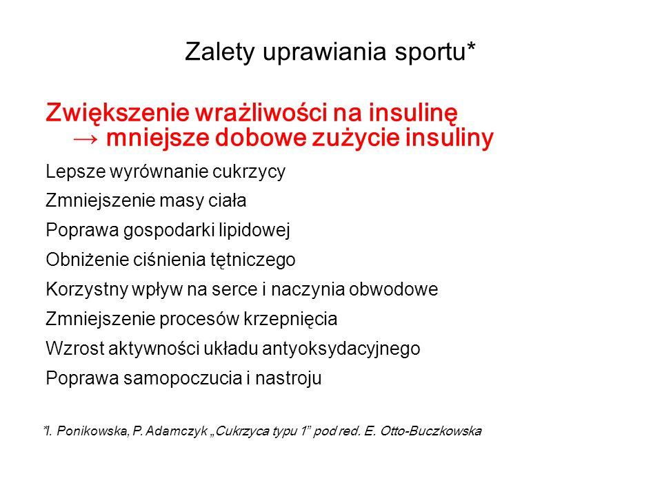 Zalety uprawiania sportu*
