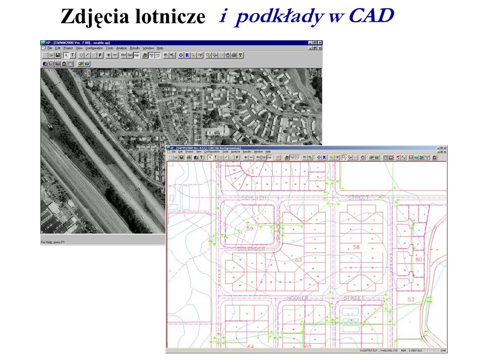 Zdjęcia lotnicze i podkłady w CAD EXPLAIN: