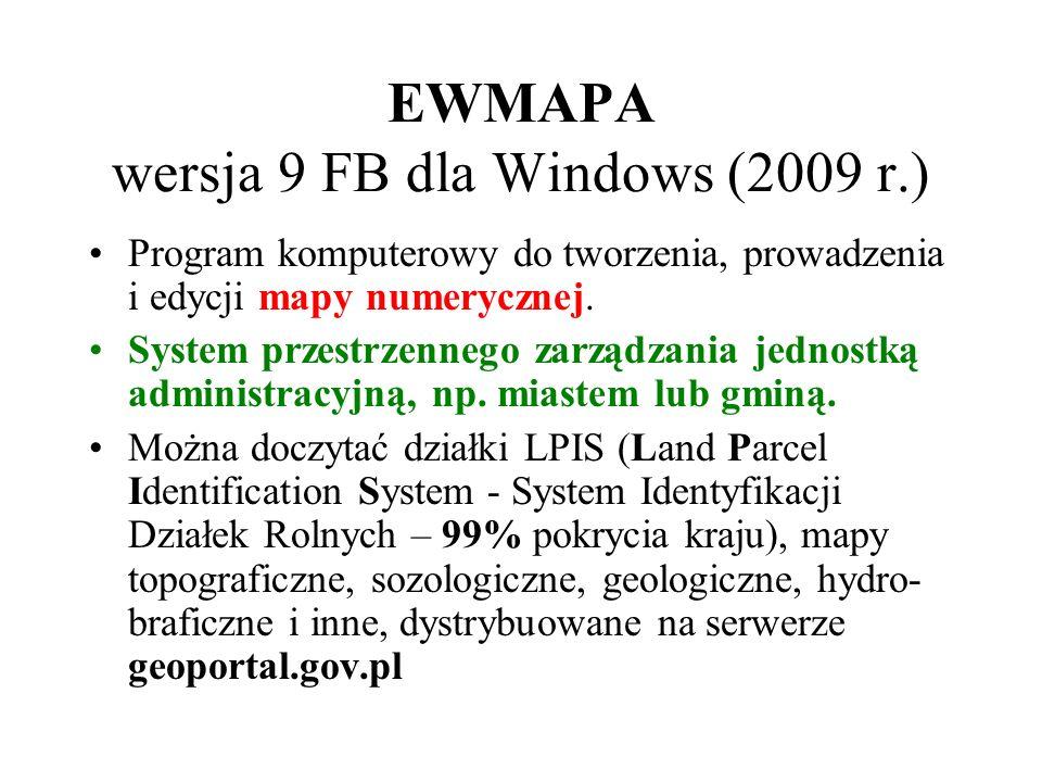 EWMAPA wersja 9 FB dla Windows (2009 r.)