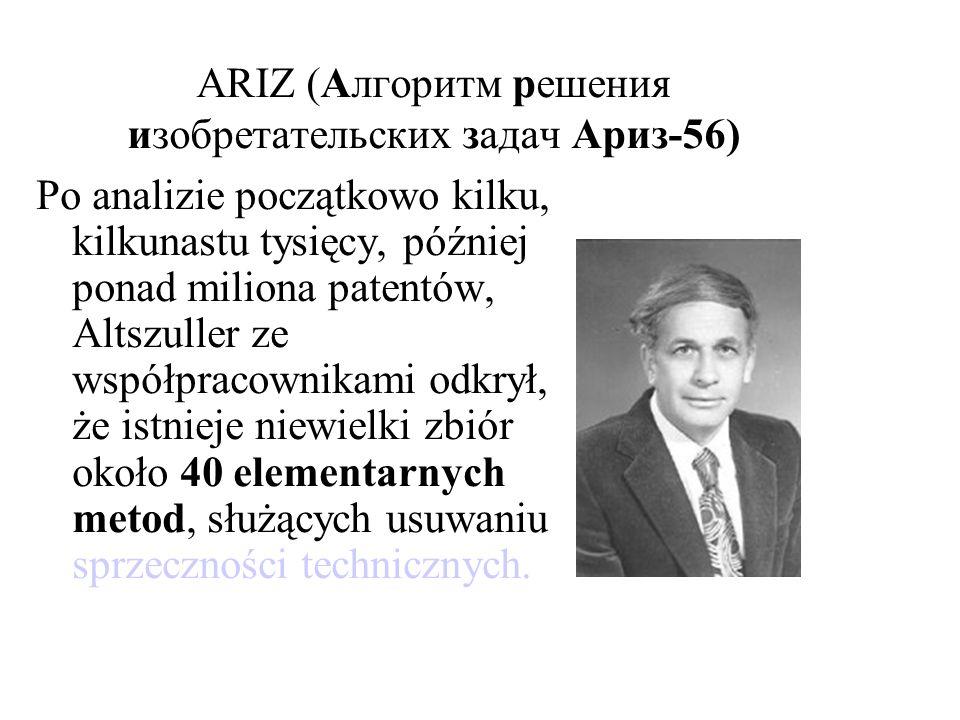 ARIZ (Алгоритм решения изобретательских задач Aриз-56)
