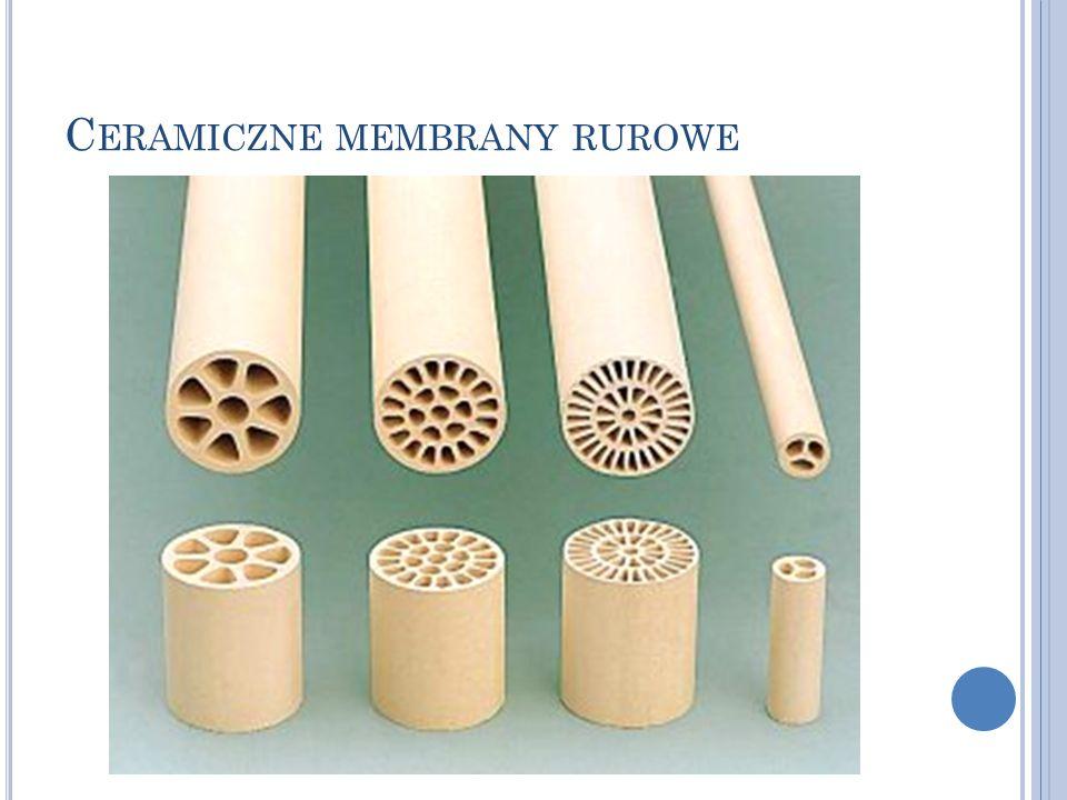 Ceramiczne membrany rurowe