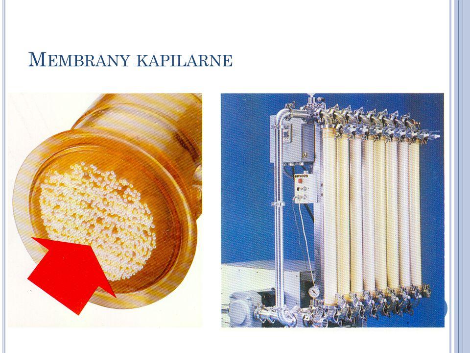 Membrany kapilarne