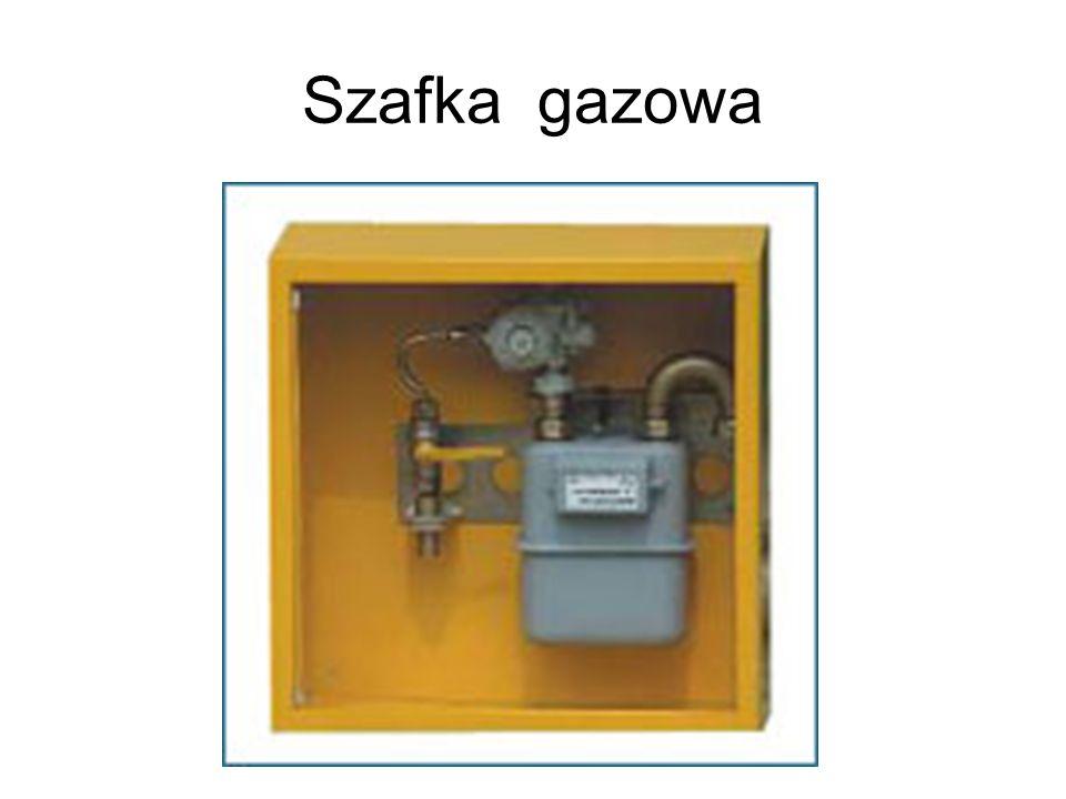 Szafka gazowa
