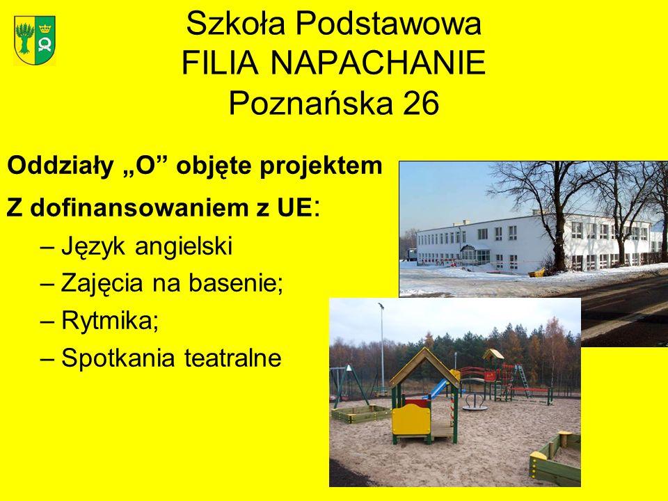 Szkoła Podstawowa FILIA NAPACHANIE Poznańska 26