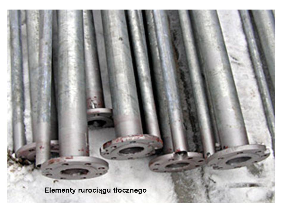 Elementy rurociągu tłocznego