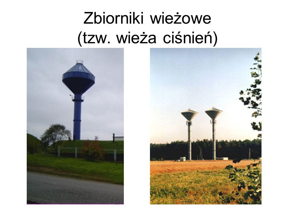 Zbiorniki wieżowe (tzw. wieża ciśnień)