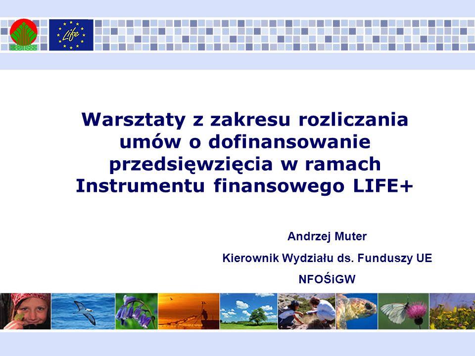 Kierownik Wydziału ds. Funduszy UE