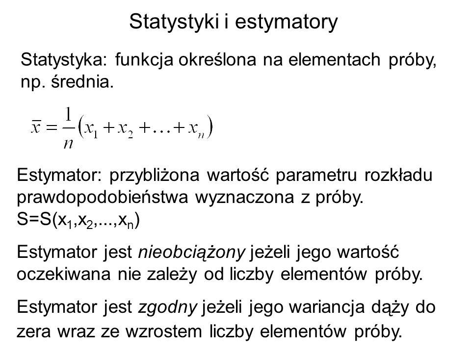 Statystyki i estymatory