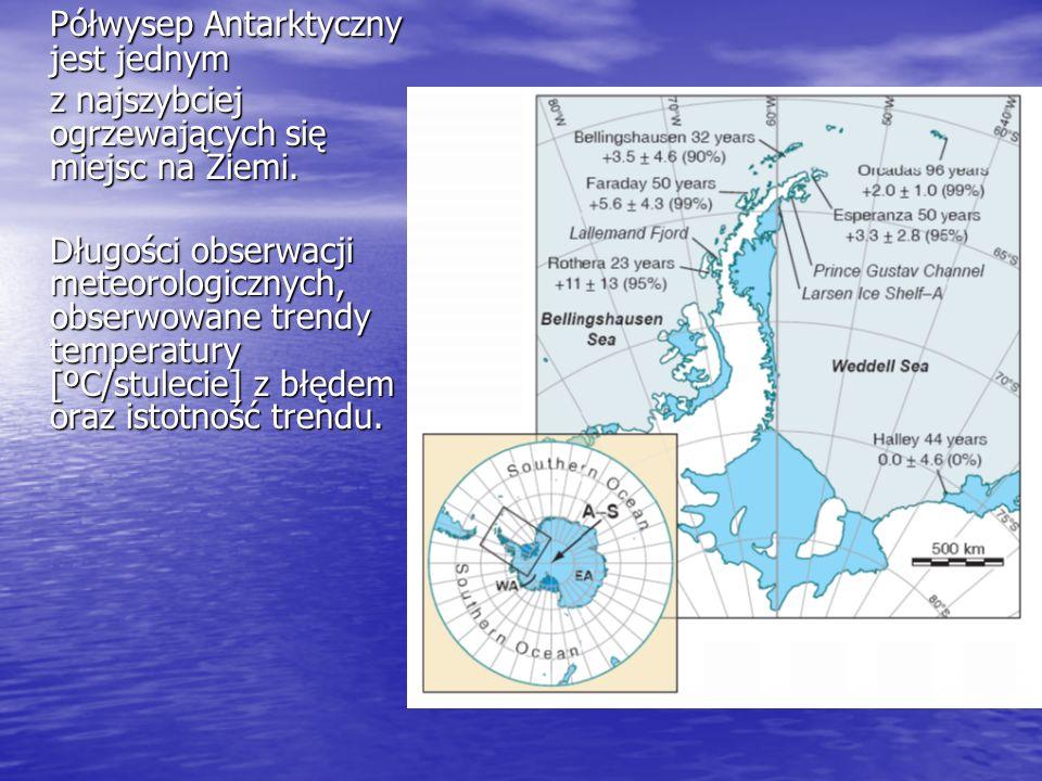 Półwysep Antarktyczny jest jednym