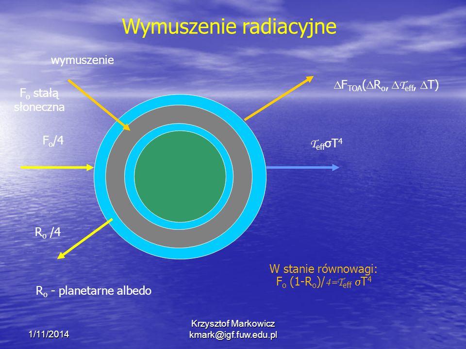 Wymuszenie radiacyjne