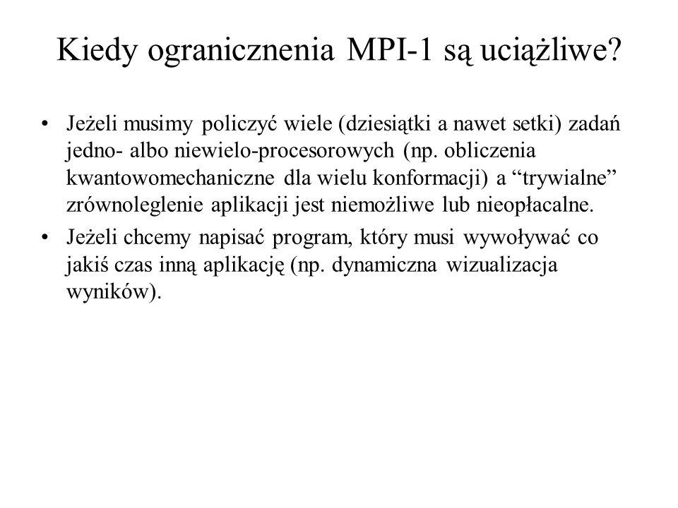 Kiedy ogranicznenia MPI-1 są uciążliwe