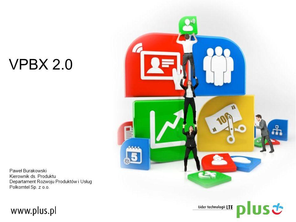 VPBX 2.0 Paweł Burakowski Kierownik ds. Produktu