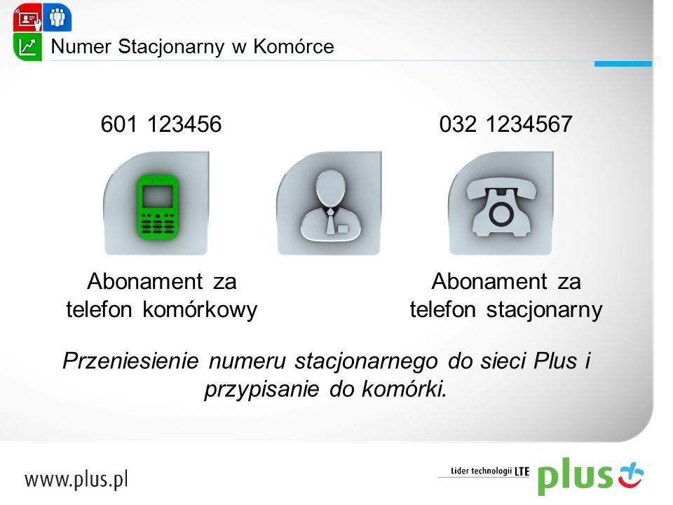 Abonament za telefon komórkowy Abonament za telefon stacjonarny