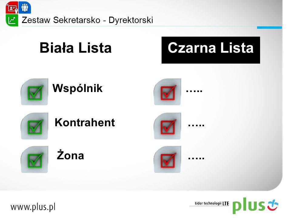 Biała Lista Czarna Lista