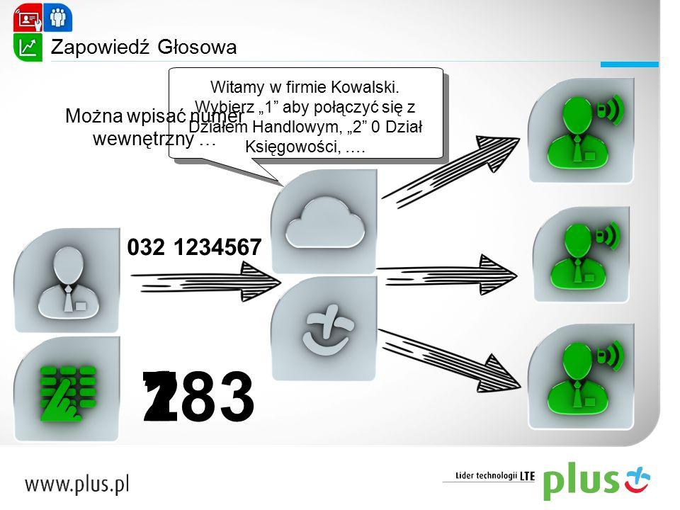 1 2 783 Witamy w firmie Kowalski.