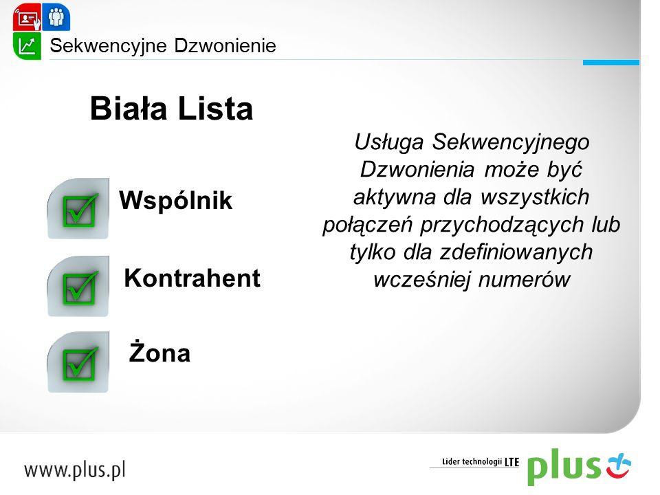 Biała Lista Wspólnik Kontrahent Żona