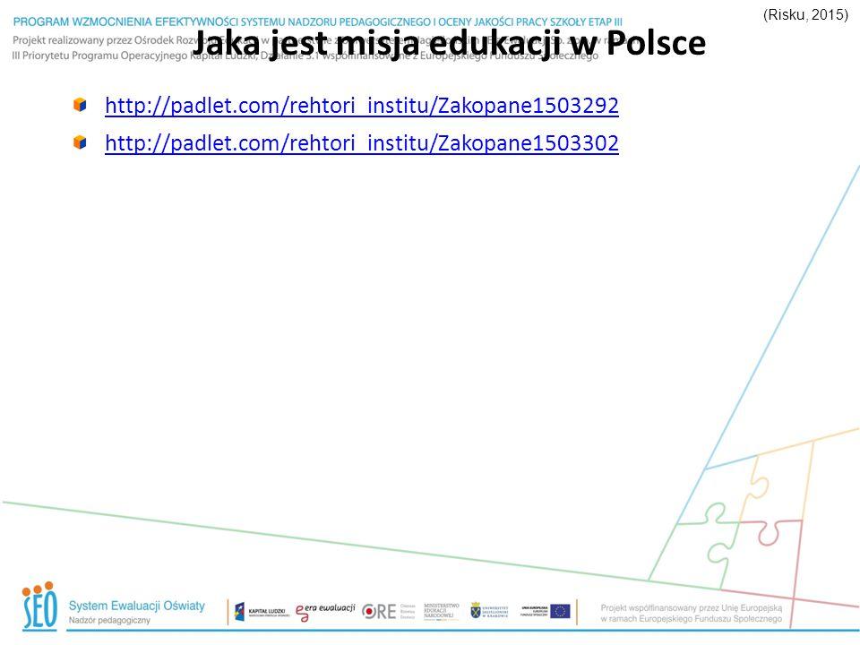 Jaka jest misja edukacji w Polsce