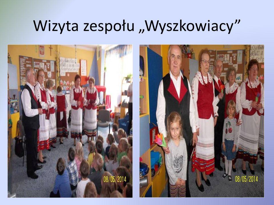 """Wizyta zespołu """"Wyszkowiacy"""