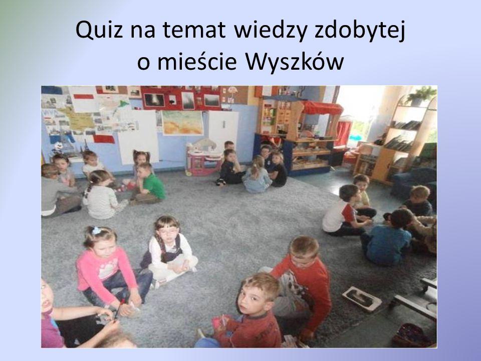 Quiz na temat wiedzy zdobytej o mieście Wyszków