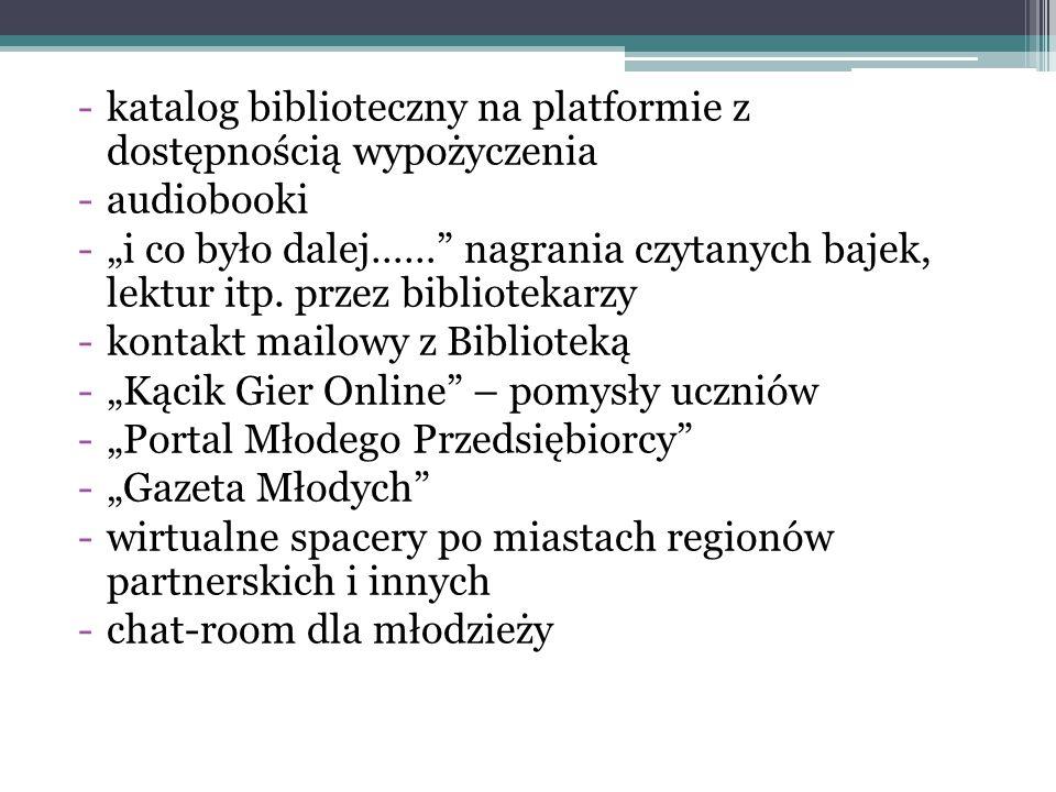 katalog biblioteczny na platformie z dostępnością wypożyczenia