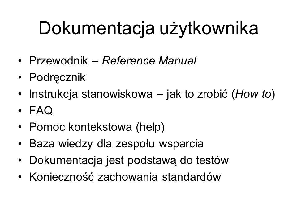 Dokumentacja użytkownika