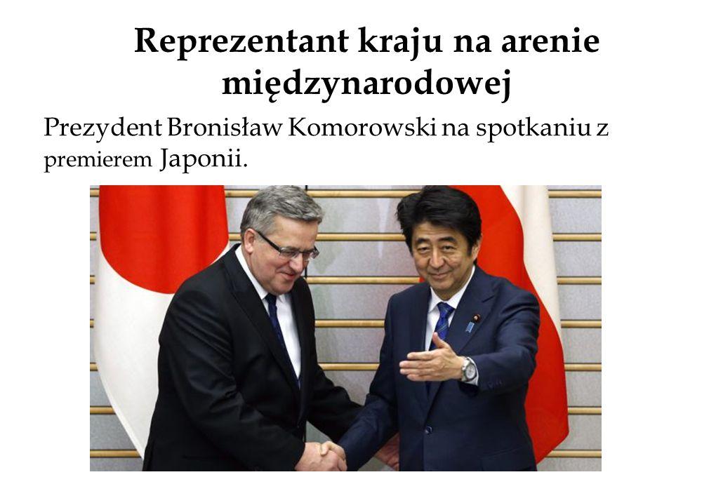 Reprezentant kraju na arenie międzynarodowej