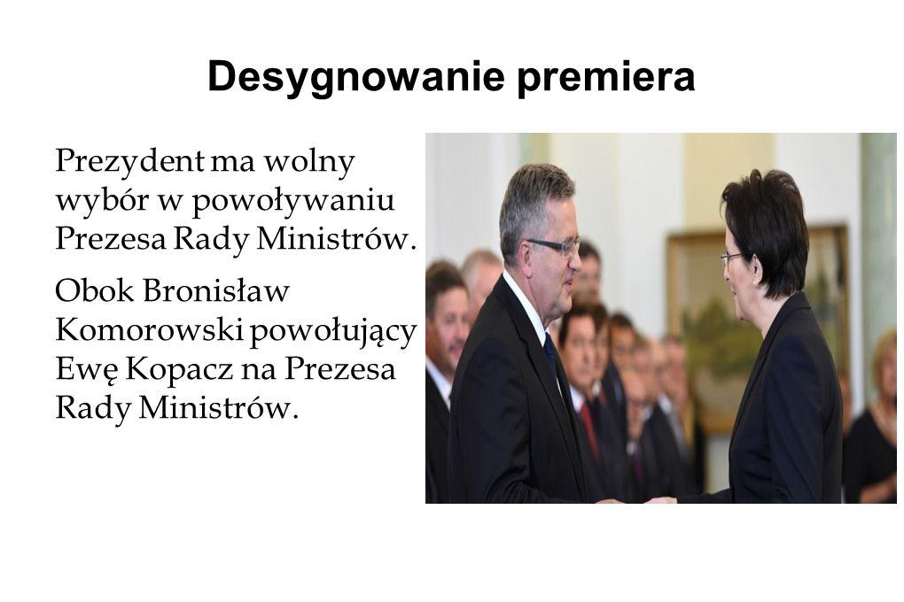 Desygnowanie premiera