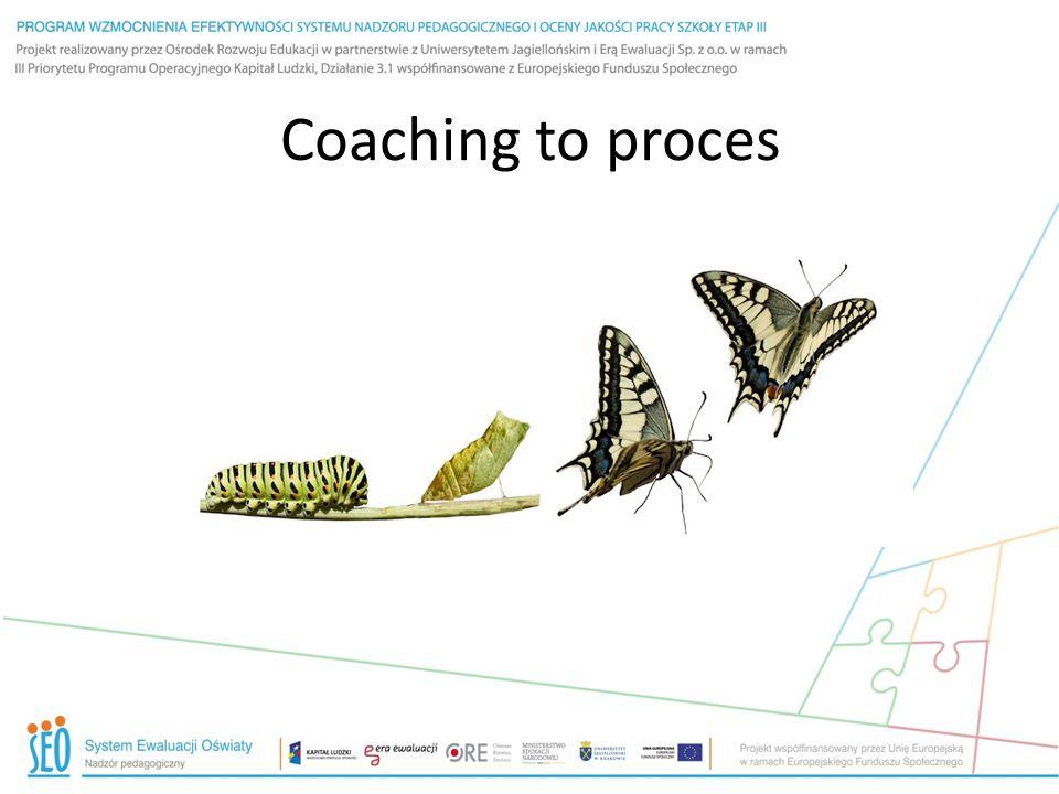 Coaching to proces