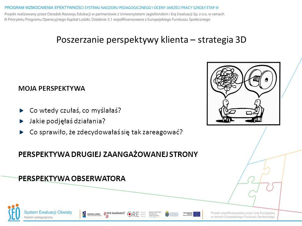 Poszerzanie perspektywy klienta – strategia 3D